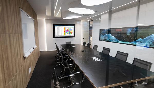 Installateur salle de réunion audio video domotique Cannes Mandelieu